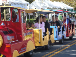 Trackless Train 1