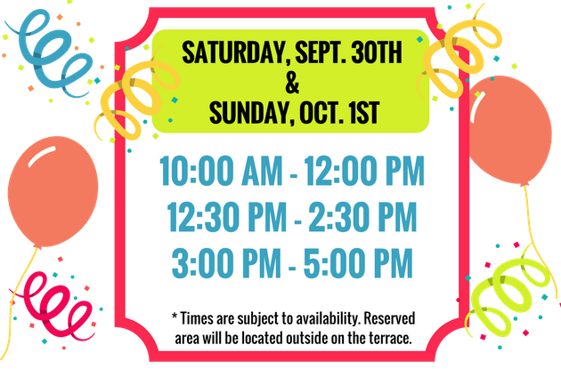 Party Area Times